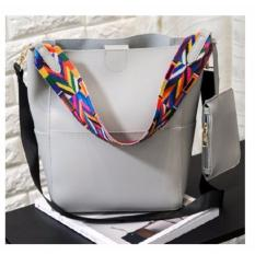 Bucket Bag Tribal Strap Bucket Bag Grey In Stock