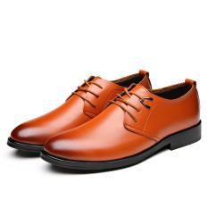 Price Business Men S Basic Flat Leather Gentle Wedding Dress Shoes Luxury Brand Formal Wearing British Intl Oem Online