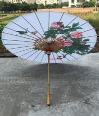 Butterfly Love Traditional Water Resistant Oil Paper Parasol 55Cm Semi Wear Decorative Umbrella Lowest Price