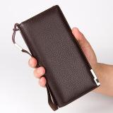 Best Price Byt Baellery Premium Pu Leather Long Men Wallet Handbag Pa404 Brown