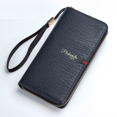 Buy Dd Mall Byt Pidanlu Brand Long Korean Style Zipper Leather Mens Walletphone Bag Coins Holders Purse Currency Pouches With Hand Strips258 1 Dayfdh Online