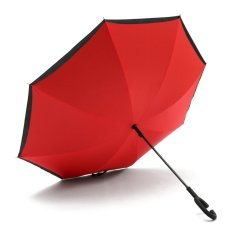 Sale C Handle Big Double Layer Inverted Upside Down Windproof Umbrella Self Standing Red Intl China Cheap