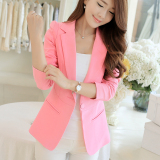 Deals For Calan Diana Women S Korean Style Slim Fit Suit Pink R133 Pink R133