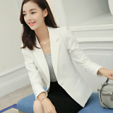 Price Comparisons Caidaifei Korean Style Spring And Summer New Style Slim Fit Small Suit Jacket White