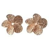 Callista Flower Clasp Earrings Price