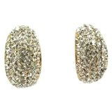 Price Callista Semi Loop Stud Earrings Online Singapore