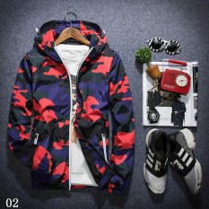 New Camouflage Fashion Men S Casual Outdoor Coat Outerwear Slim Collar Jackets Autumn Winter Jacket Tops Size M L Xl 2Xl 3Xl 4Xl 5Xl Intl