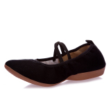 Top 10 Canvas Female Mom Dance Shoes Square Dancing Shoes Black Full Canvas