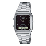 Price Casio Vintage Series Standard Analog Digital Silver Stainless Steel Band Watch Aq230A 1D Aq 230A 1D Casio Online