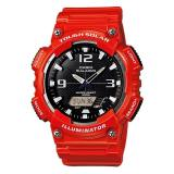 Best Deal Casio Men S Analog Digital Tough Solar Red Resin Strap Watch Aqs810Wc 4A Aq S810Wc 4A