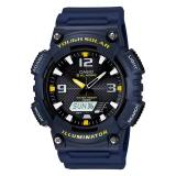 Casio Men S Analog Digital Tough Solar Blue Resin Strap Watch Aqs810W 2A Aq S810W 2A Promo Code