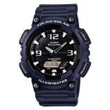 Casio Men S Analog Digital Tough Solar Blue Resin Strap Watch Aqs810W 2A2 Aq S810W 2A2 Deal