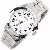 Who Sells Casio Analog Men S Silver Stainless Steel Watches Mtp 1215A 7B2 The Cheapest