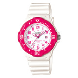 Casio Women S Diver Style White Resin Band Watch Lrw200H 4B Lrw 200H 4B For Sale