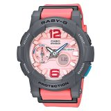 Sale Casio Baby G G Lide Series Pink Resin Band Watch Bga180 4B2 Bga 180 4B2 On Singapore