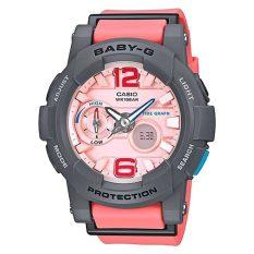 Discount Casio Baby G G Lide Series Pink Resin Band Watch Bga180 4B2 Bga 180 4B2 Singapore