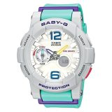 Who Sells The Cheapest Casio Baby G G Lide Series Mint Resin Band Watch Bga180 3B Bga 180 3B Online