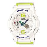 Casio Baby G G Lide Series White Resin Band Watch Bga180 7B2 Bga 180 7B2 Coupon Code