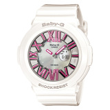 Great Deal Casio Baby G Neon Illumination Dial Red Resin Band Watch Bga160 7B2 Bga 160 7B2