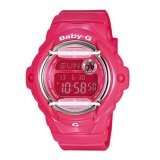 Casio Baby G Ladies Pink Resin Band Watch Bg 169R 4B Export Reviews