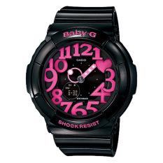 Sales Price Casio Baby G Neon Illumination Dial Black Resin Band Watch Bga130 1B Bga 130 1B