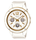 Buy Casio Baby G Popular Wide Face White Resin Strap Watch Bga151 7B Bga 151 7B