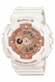 Promo Casio Baby G Women S White Resin Strap Watch Ba 110 7A1
