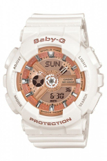 Casio Baby G Women S White Resin Strap Watch Ba 110 7A1 Free Shipping