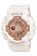 Sale Casio Baby G Women S White Resin Strap Watch Ba 110 7A1 Casio Baby G Original