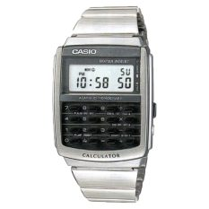 Review Casio Men S Data Bank Series Silver Stainless Steel Band Watch Ca506 1D Ca 506 1D On Singapore