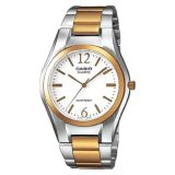 Store Casio Men S Standard Analog Two Tone Stainless Steel Band Watch Mtp1253Sg 7A Mtp 1253Sg 7A Casio On Singapore