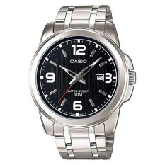 Buy Casio Men S Standard Analog Silver Stainless Steel Band Watch Mtp1314D 1A Mtp 1314D 1A Casio