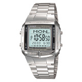 Where To Buy Casio Men S Data Bank Silver Stainless Steel Band Watch Db360 1A Db 360 1A