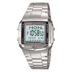 [best] Casio Mens Data Bank Silver Stainless Steel Band Watch Db360-1a Db-360-1a By Watchspree.