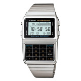 Price Casio Men S Multi Lingual Data Bank Series Silver Stainless Steel Band Watch Dbc611 1D Dbc 611 1D Casio Online