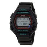 Buy Casio Digital Casual Sports Men S Black Resin Strap Watch Dw290 1V Casio