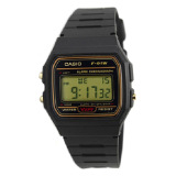 Shop For Casio Digital Men S Black Resin Band Watch F91Wg 9S