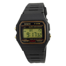 Cheapest Casio Digital Men S Black Resin Band Watch F91Wg 9S