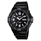 Purchase Casio Diver Look Men S Black Resin Band Watch Mrw200H 1B2 Online