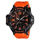 Casio G Shock Gravitymaster Twin Sensor Orange Resin Strap Watch Ga1000 4A Ga 1000 4A In Stock