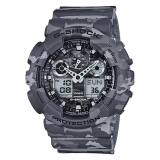 Discount Casio G Shock Camouflage Series Grey Watch Ga100Cm 8A Ga 100Cm 8A