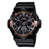 Review Casio G Shock Special Color Models Series Black Resin Strap Watch Ga200Rg 1A Ga 200Rg 1A Singapore