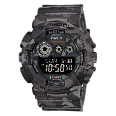 Discount Casio G Shock Special Color Series Camouflage Series Grey Resin Watch Gd120Cm 8D Gd 120Cm 8D Casio G Shock On Singapore
