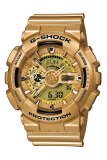 Compare Price Casio G Shock Men S Gold Resin Strap Watch Ga 110Gd 9A Casio G Shock On Hong Kong Sar China