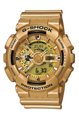 Best Reviews Of Casio G Shock Men S Gold Resin Strap Watch Ga 110Gd 9A