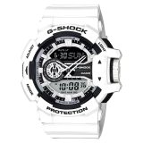 Casio G Shock Standard Analog Digital White Resin Watch Ga400 7A Ga 400 7A Sale