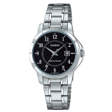 Casio Ladies Standard Analog Silver Stainless Steel Band Watch Ltpv004D 1B Ltp V004D 1B Promo Code