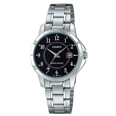 Casio Ladies Standard Analog Silver Stainless Steel Band Watch Ltpv004D 1B Ltp V004D 1B Best Price