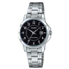 Buy Cheap Casio Ladies Standard Analog Silver Stainless Steel Band Watch Ltpv004D 1B Ltp V004D 1B