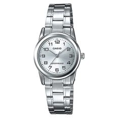Cheap Casio Ladies Standard Analog Silver Stainless Steel Band Watch Ltpv001D 7B Ltp V001D 7B